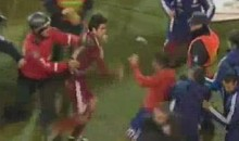 An On-Field Brawl Broke Out Following Paraguay And Venezuala's Copa America Match (Video)