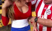 Here Is An Interview With Paraguay's Sexy Blonde Fan, Patty Orue (Video)