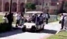 Golf Cart Carrying Real Madrid Players Runs Over Woman (Video)