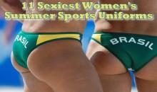 11 Sexiest Women's Summer Sports Uniforms
