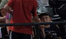 Young D-Backs Fan Shows Some Class, Returns Ball To Younger Fan (Video)