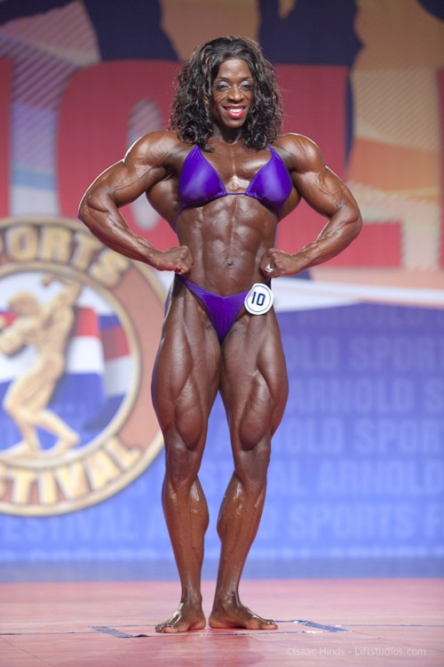 11 Incredibly Muscular Female Competitive Bodybuilders | Total Pro