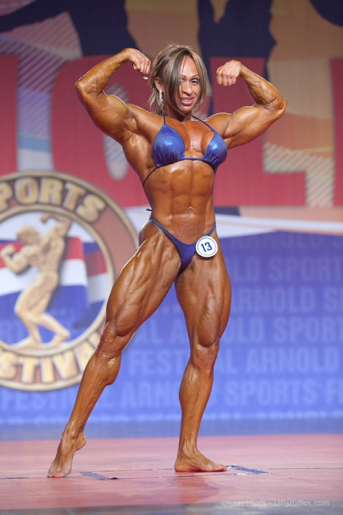 image Female body builder with big clit