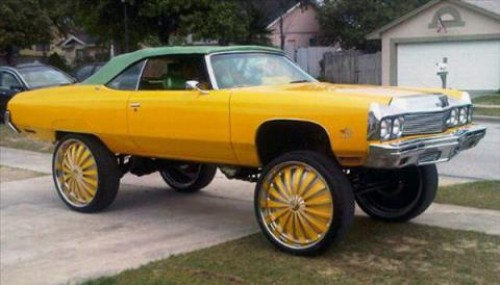 Pimped Out Nfl Cars