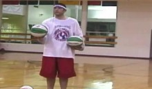 Is Hitting 3 Backwards Half-Court Shots In A Row A World Record? (Video)