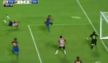 Marco Fabian Scores A Barcelona-esque Goal Against Barcelona (Video)