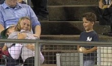 This Is The Cutest Thing You Will Ever See At A Baseball Game (Video)