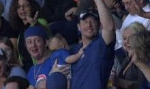 Here Is The Latest Fan To Catch A Foul Ball While Holding His Child (Video)