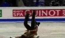 Figure Skating Piledriver (GIF)