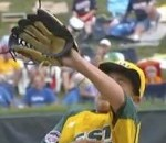 Close Call: Little League Pitcher Saved From Line Drive By The Bill Of His Cap (Video)