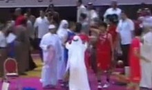 Kuwait And Bahrain Engage In A Basketball Brawl (Video)