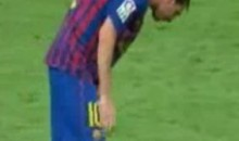 Messi Spews Chunks, Scores Amazing Goal (Video)