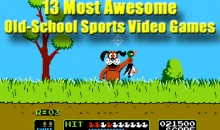13 Most Awesome Old-School Sports Video Games