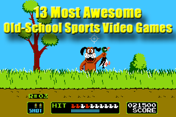 13 Most Awesome Old School Sports Video Games Total Pro Sports