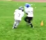 Nate Robinson's Son Clobbers Other Kid At Peewee Football Practice (Video)