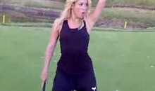 Here Is 3 Minutes Of Shakira Looking Sexy On A Golf Course (Video)