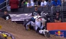 Travis Pastrana Suffers Broken Leg In Best Trick Contest, Still Competes In RallyCross At X-Games (Video)