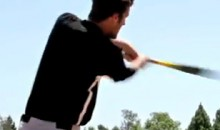 Amazing Batting Practice Called 'Skeet Ball' (Video)