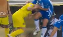 Another Vicious Soccer Headbutt (Video)