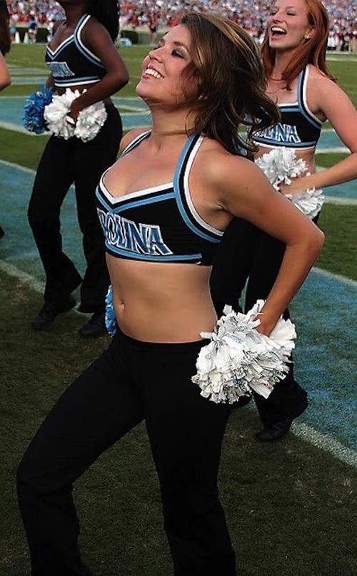north carolina cheerleaders