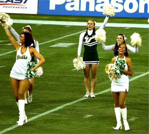 south florida cheerleaders
