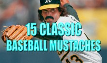15 Classic Baseball Mustaches