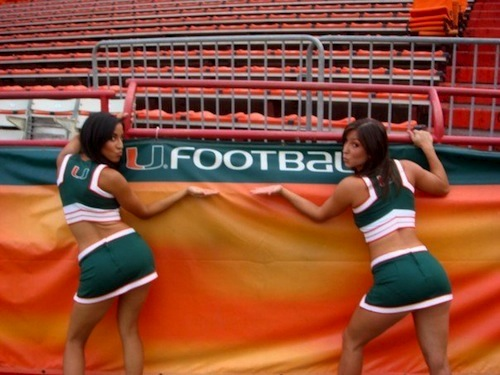 university of miami hurricanes cheerleaders - Total Pro Sports
