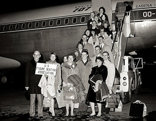 1961 U.S. Figure Skating Team plane crash