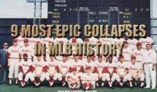 9 Most Epic Collapses In MLB History