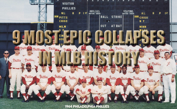 EPIC COLLAPSES IN MLB HISTORY
