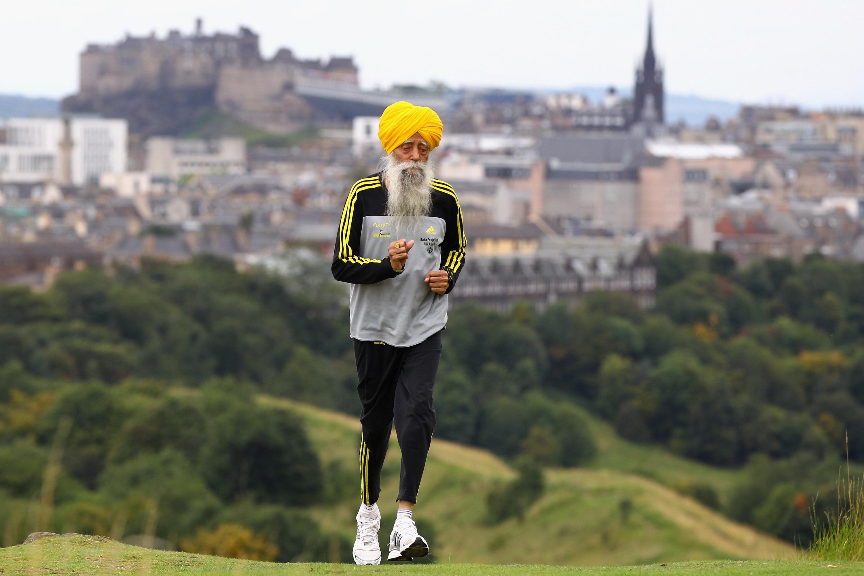 Fauja Singh oldest marathon runner