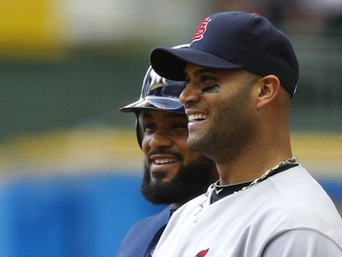 albert pujols and prince fielder