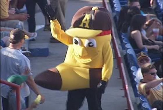 amarillo sox mascot