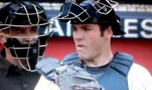 Yanks' Catcher Austin Romine Catches A Bee With His Mitt (Video)