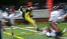 High School Running Back Does Barrel Roll Before Scoring Game-Winning Touchdown (Video)
