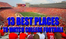 13 Best Places To Watch College Football