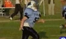 Blind Kid Playing Football (GIF)