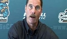 Coastal Carolina Coach David Bennett Gives Us This Odd Press Conference (Video)