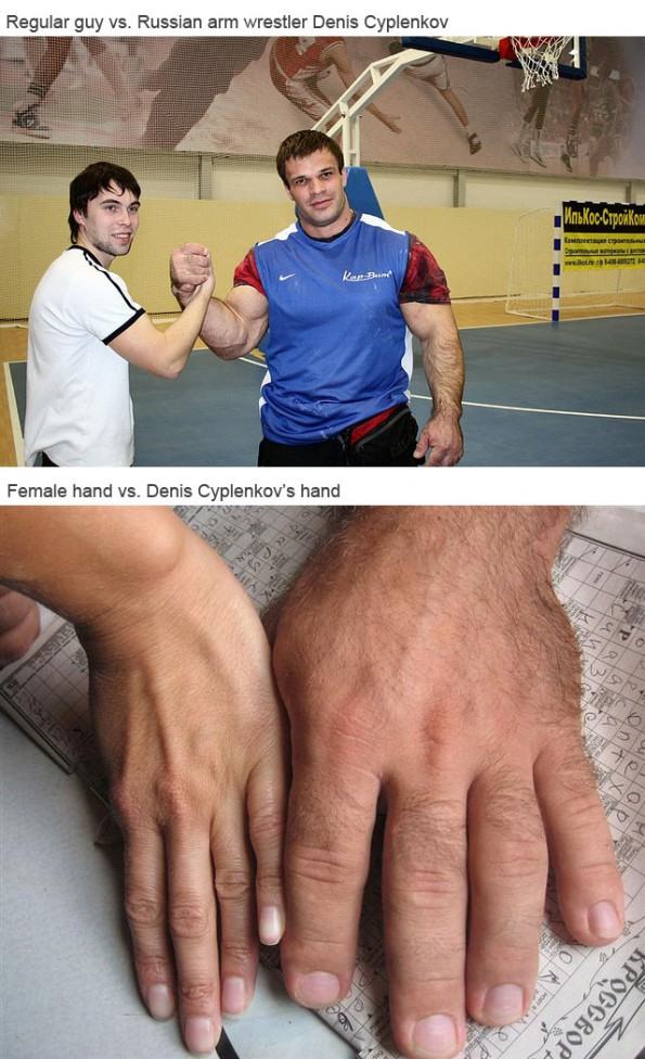denis cyplenkov hands