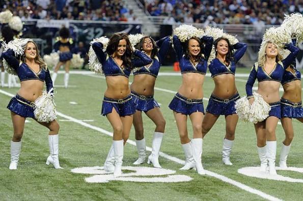detroit lions cheerleaders