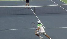 Novak Djokovic And Carlos Berlocq Had An Exciting Rally Yesterday (Video)