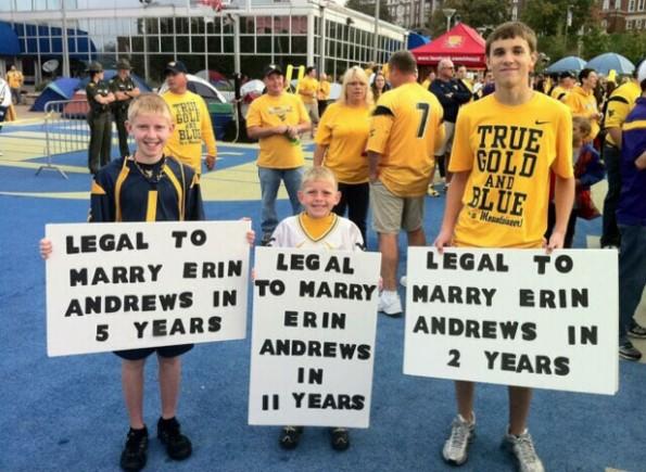 erin andrews marriage