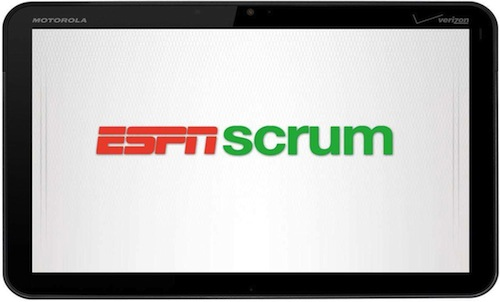 espn scrum mobile