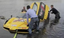 Watch A $1.5 Million Custom Ferrari 'Enzo' Crash Into The Atlantic Ocean (Video)