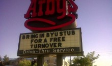 Picture Of The Day: Arby's Takes A Shot At BYU