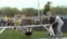 When Hurdling Goes Wrong (Video)