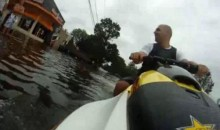 Jet Skiing Through The Streets Of New York During Hurricane Irene Seems Like A Good Idea (Video)