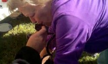 LSU Grandma Peforms A Keg Stand (Video)
