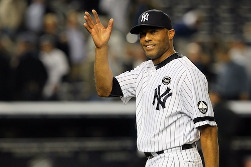 mariano rivera waving