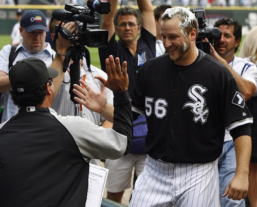 mark buehrle no hitter